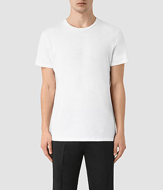 Herren Grinds Crew T-Shirt (Optic White)