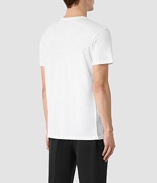 Men's Grinds Crew T-Shirt (Optic White) - product_image_alt_text_3
