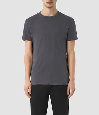 Men's Grinds Crew T-Shirt (LEAD GREY)
