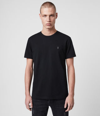 Men's Laiden Tonic Crew T-Shirt (Jet Black) - Image 1