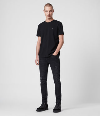 Men's Laiden Tonic Crew T-Shirt (Jet Black) - Image 3