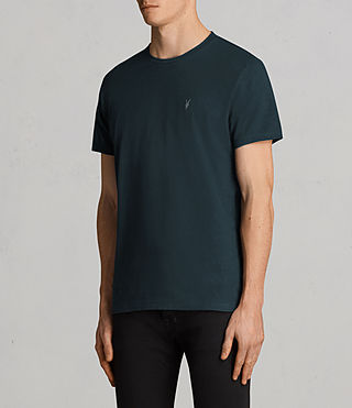 Men's Laiden Tonic Crew T-Shirt (OIL BLUE) - Image 3