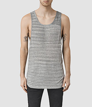 Mens Tobiah Tank (Grey Mouline)
