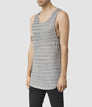 Mens Tobiah Tank (Grey Mouline) - product_image_alt_text_2