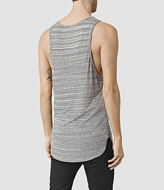 Mens Tobiah Tank (Grey Mouline) - product_image_alt_text_3