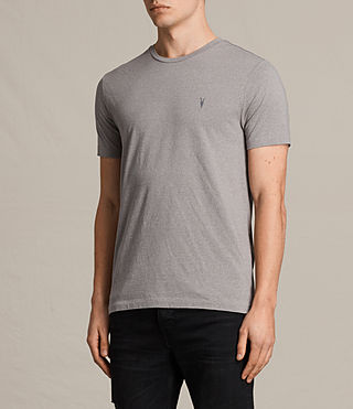Hombre Tonic Cean Crew T-Shirt (Putty Brown) - product_image_alt_text_3