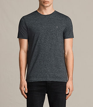 Hombre Tonic Cean Crew T-Shirt (Jet Black) - product_image_alt_text_1