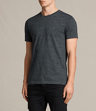 Hommes Tonic Cean Crew T-Shirt (Jet Black) - product_image_alt_text_3