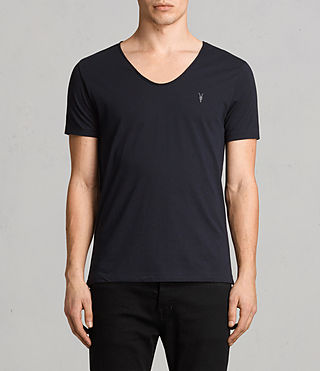 Mens Tonic Scoop T-Shirt (Ink) - product_image_alt_text_1