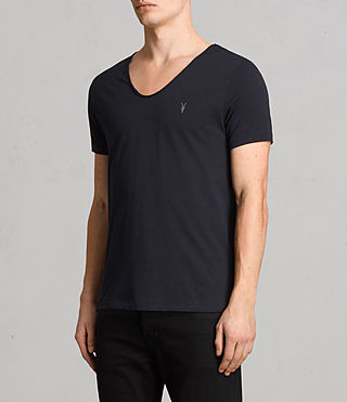 Mens Tonic Scoop T-Shirt (Ink) - product_image_alt_text_3