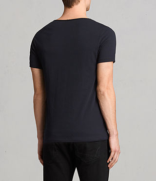 Mens Tonic Scoop T-Shirt (Ink) - Image 4