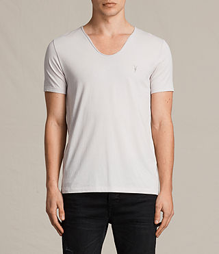 Mens Tonic Scoop T-Shirt (Marble Grey) - product_image_alt_text_1