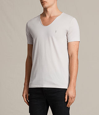 Mens Tonic Scoop T-Shirt (Marble Grey) - product_image_alt_text_2