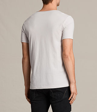 Mens Tonic Scoop T-Shirt (Marble Grey) - product_image_alt_text_3
