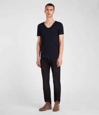 Men's Tonic Scoop T-Shirt (INK NAVY) - Image 3