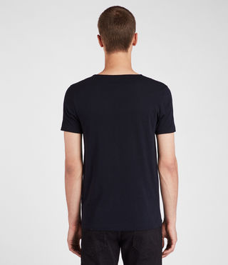 Mens Tonic Scoop T-Shirt (INK NAVY) - Image 4