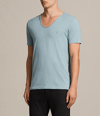 Herren Tonic Scoop T-Shirt (NORDIC BLUE) - Image 3