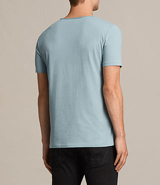 Herren Tonic Scoop T-Shirt (NORDIC BLUE) - Image 4