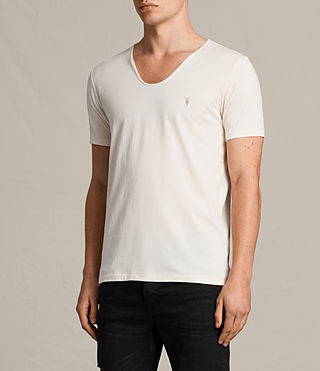 Hommes Tonic Scoop T-Shirt (PRIMROSE YELLOW) - product_image_alt_text_2