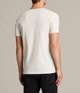 Hommes Tonic Scoop T-Shirt (PRIMROSE YELLOW) - product_image_alt_text_3
