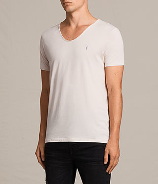 Men's Tonic Scoop T-Shirt (BARLEY PINK) - product_image_alt_text_3