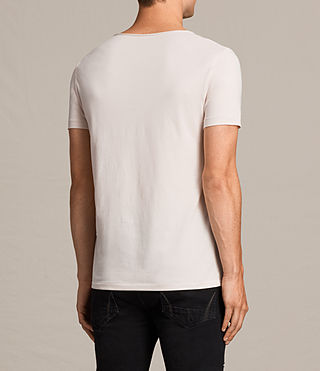 Men's Tonic Scoop T-Shirt (BARLEY PINK) - product_image_alt_text_4