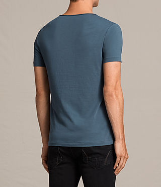 Mens Tonic Scoop T-Shirt (RIFLE BLUE) - product_image_alt_text_4