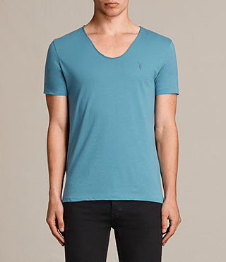 Mens Tonic Scoop T-Shirt (TEAL BLUE) - Image 1