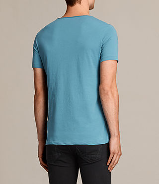 Mens Tonic Scoop T-Shirt (TEAL BLUE) - Image 3