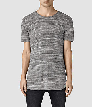 Mens Tobiah Crew T-Shirt (Grey Mouline)