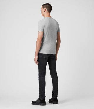 Men's Tonic Crew T-Shirt (Grey Marl) - product_image_alt_text_4