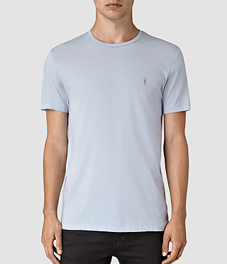 Mens Tonic Crew T-Shirt (Sky Blue) - product_image_alt_text_1