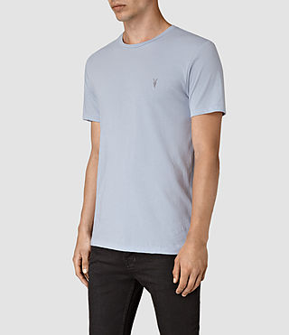 Men's Tonic Crew T-Shirt (Sky Blue) - product_image_alt_text_2
