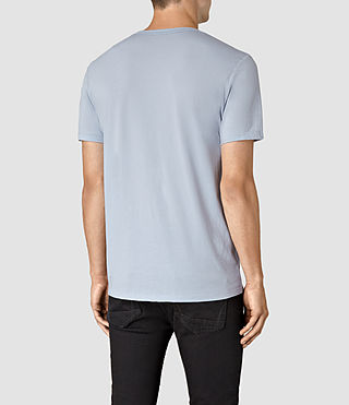 Men's Tonic Crew T-Shirt (Sky Blue) - product_image_alt_text_3