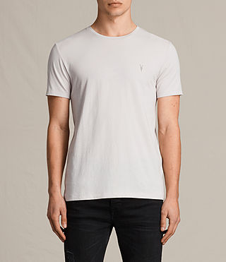 Men's Tonic Crew T-Shirt (Marble Grey) -