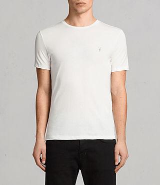 Mens Tonic Crew T-Shirt (Chalk White) - product_image_alt_text_1