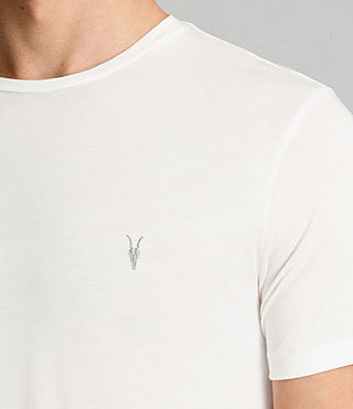 Mens Tonic Crew T-Shirt (Chalk White) - product_image_alt_text_2
