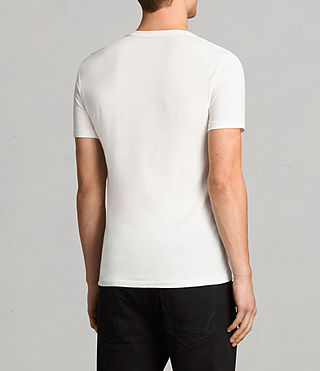 Mens Tonic Crew T-Shirt (Chalk White) - Image 4