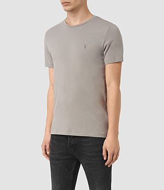 Men's Tonic Crew T-Shirt (LUNAR GREY) - product_image_alt_text_3