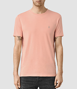 Men's Tonic Crew T-Shirt (ROSETTE PINK)