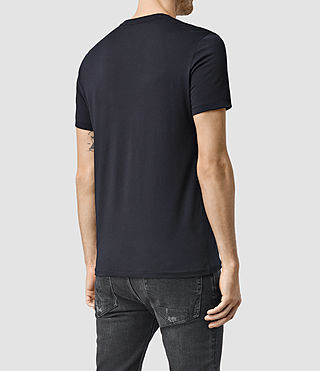 Hombres Tonic Crew T-Shirt (INKNAVY) - product_image_alt_text_3