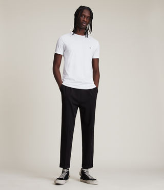 Mens Tonic Crew T-Shirt (Optic White) - Image 3