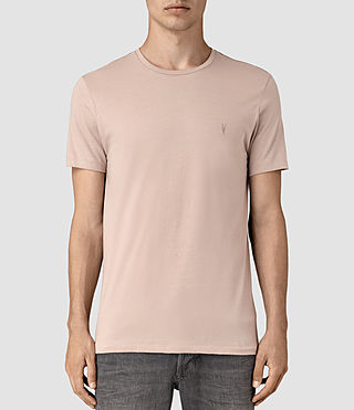 Mens Tonic Crew T-Shirt (FIG PINK)
