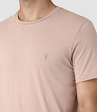 Men's Tonic Crew T-Shirt (FIG PINK) - product_image_alt_text_2