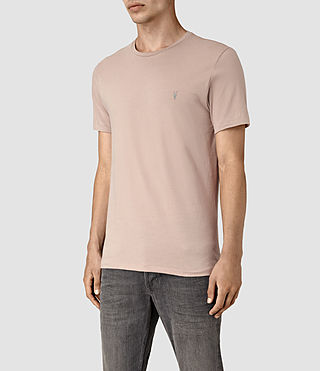 Men's Tonic Crew T-Shirt (FIG PINK) - product_image_alt_text_3