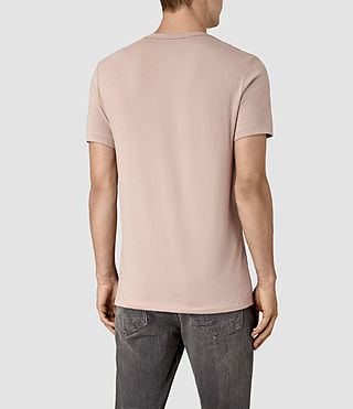 Men's Tonic Crew T-Shirt (FIG PINK) - product_image_alt_text_4