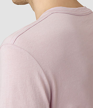 Mens Tonic Crew T-Shirt (Lilac Marble) - product_image_alt_text_2