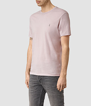 Men's Tonic Crew T-Shirt (Lilac Marble) - product_image_alt_text_3