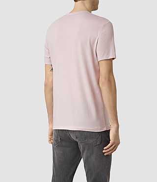 Men's Tonic Crew T-Shirt (Lilac Marble) - product_image_alt_text_4