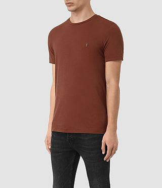 Uomo Tonic Crew T-Shirt (RUST BROWN) - product_image_alt_text_2